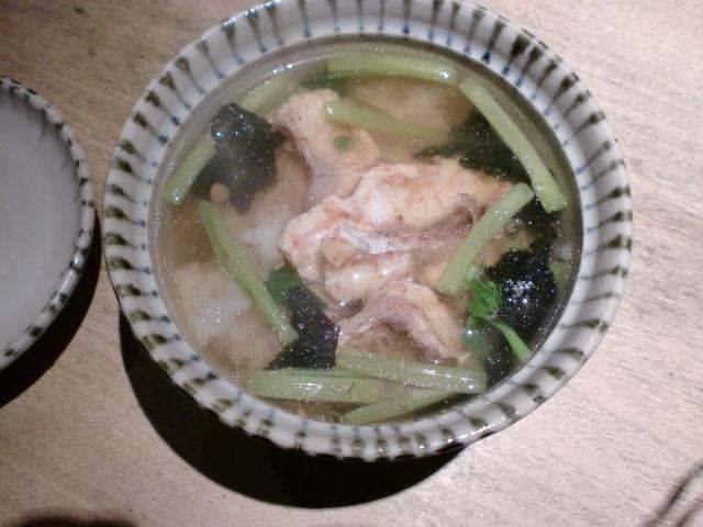 池尻おわんのブログ-鯛茶漬け