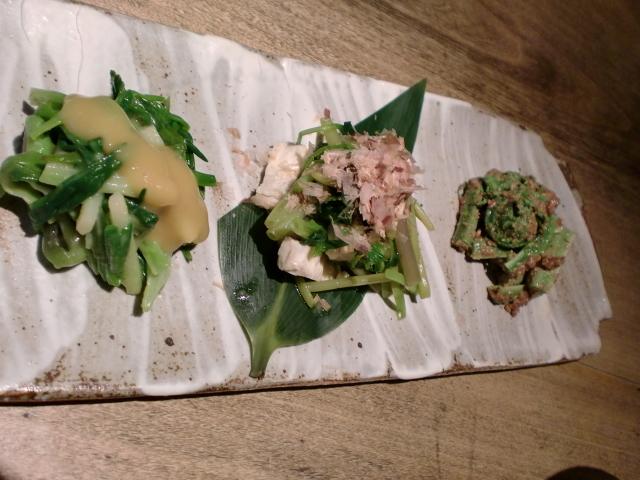 $池尻おわんのブログ-卯月の旬菜