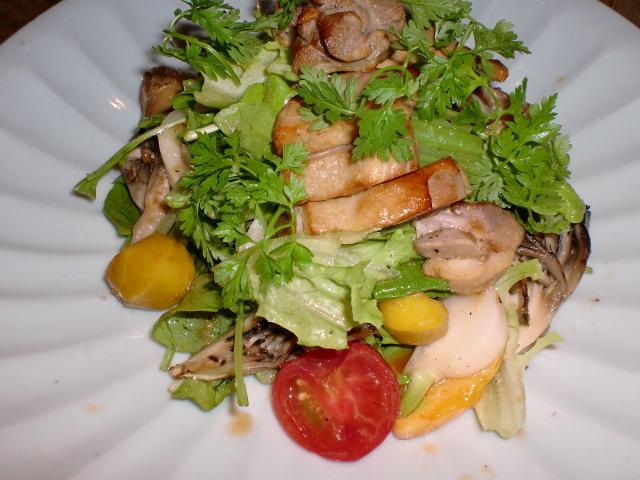 池尻おわんのブログ-サラダ