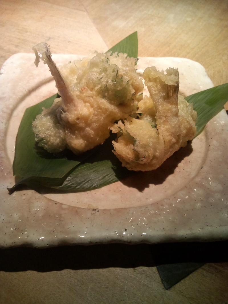 池尻おわんのブログ-キスの天ぷら